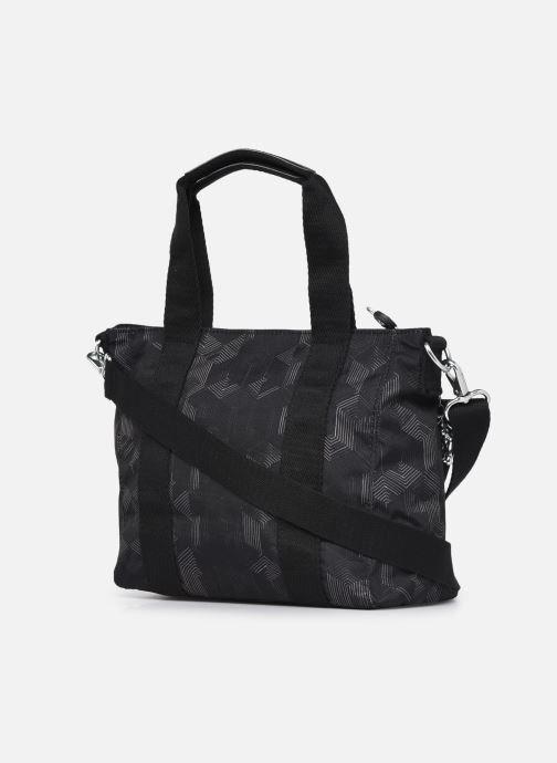 Handtaschen Kipling Asseni mini grau ansicht von rechts