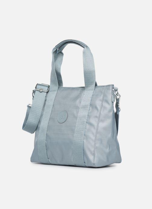 Handtaschen Kipling Asseni mini blau schuhe getragen