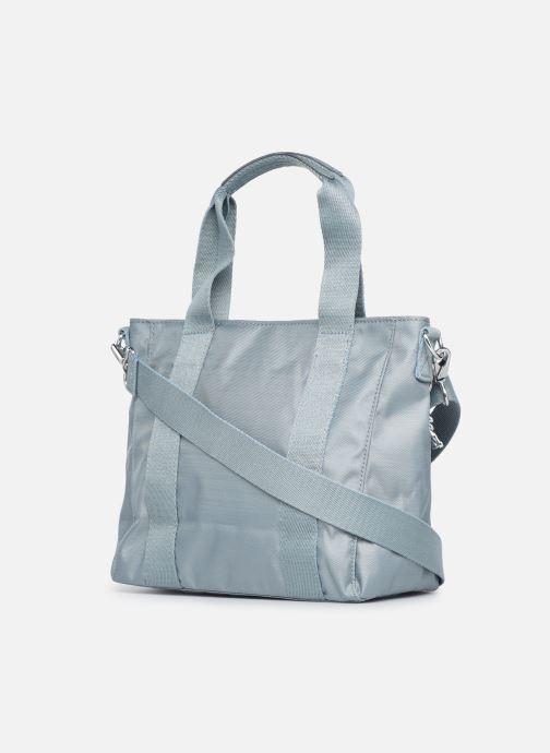 Handtaschen Kipling Asseni mini blau ansicht von rechts