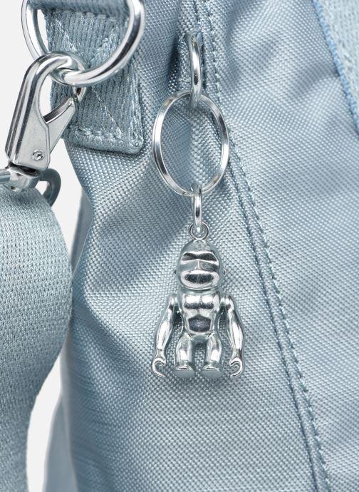 Handtaschen Kipling Asseni mini blau ansicht von links