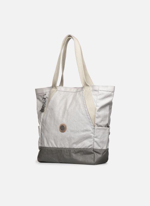 Handtaschen Kipling ALMATO AGELAND grau schuhe getragen