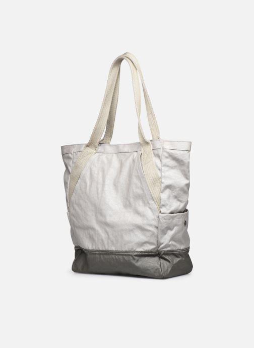 Handtaschen Kipling ALMATO AGELAND grau ansicht von rechts