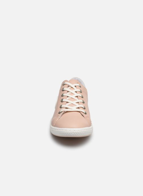 Baskets Pataugas JAYO F2E Rose vue portées chaussures