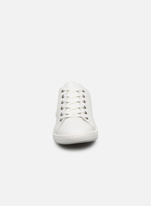 Baskets Pataugas JAYO F2E Blanc vue portées chaussures