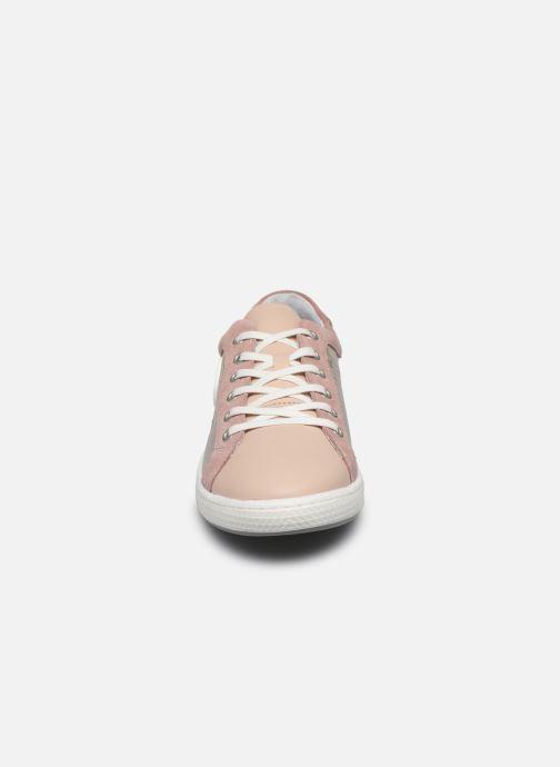 Baskets Pataugas JOHANA F2E Rose vue portées chaussures