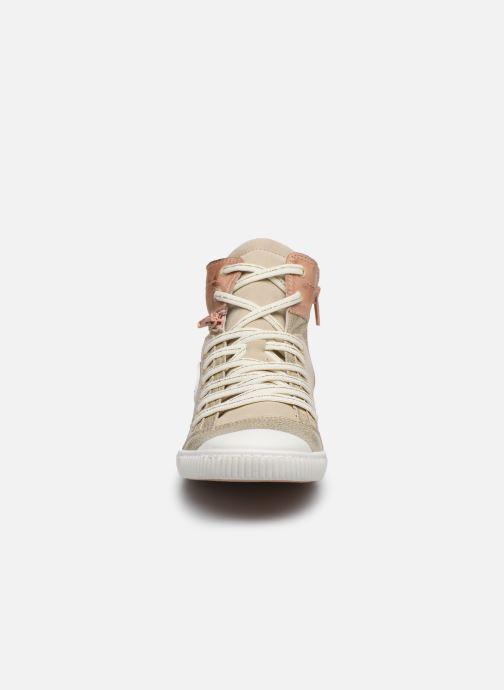 Baskets Pataugas BANJOU F2F Or et bronze vue portées chaussures