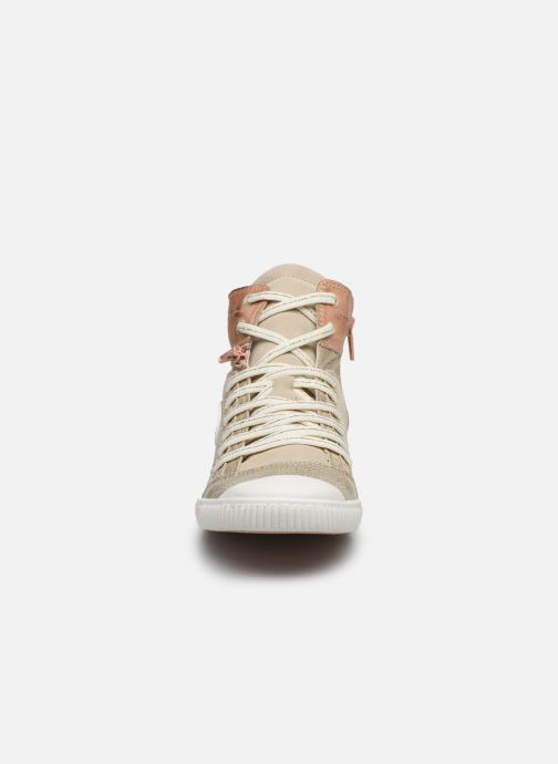 Sneakers Pataugas BANJOU F2F Oro e bronzo modello indossato