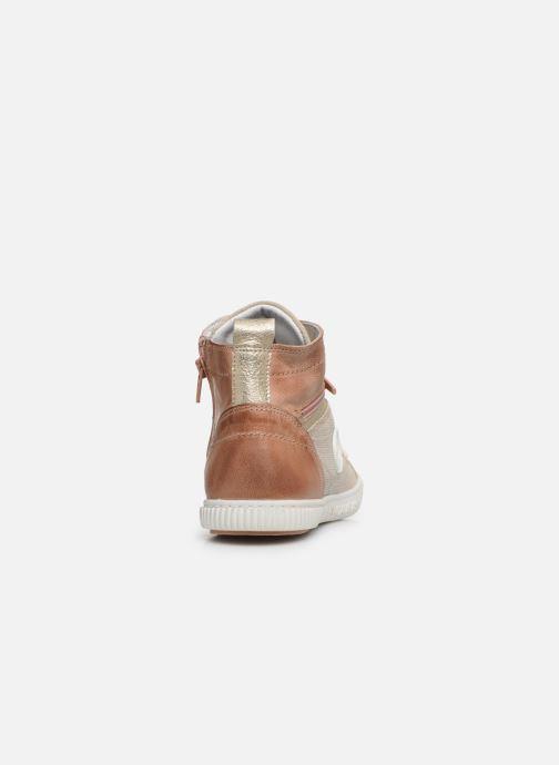 Sneakers Pataugas BANJOU F2F Oro e bronzo immagine destra