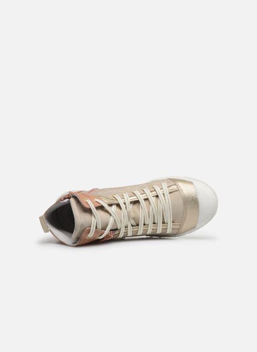 Sneakers Pataugas BANJOU F2F Oro e bronzo immagine sinistra