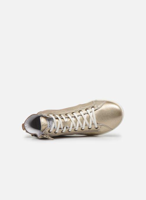 Sneakers Pataugas PALME/M F2E Oro e bronzo immagine sinistra