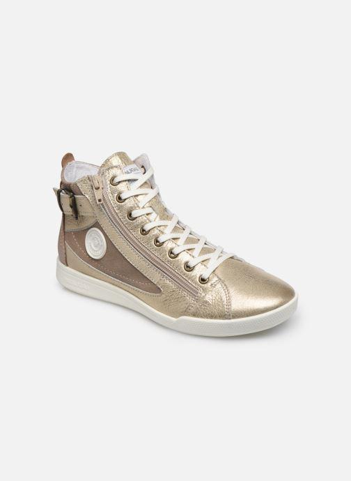Sneakers Pataugas PALME/M F2E Oro e bronzo vedi dettaglio/paio