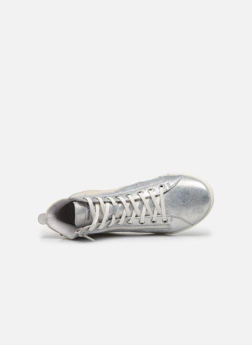 Sneakers Pataugas PALME/M F2E Argento immagine sinistra