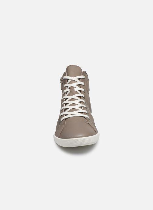 Baskets Pataugas PALME/N F2E Marron vue portées chaussures