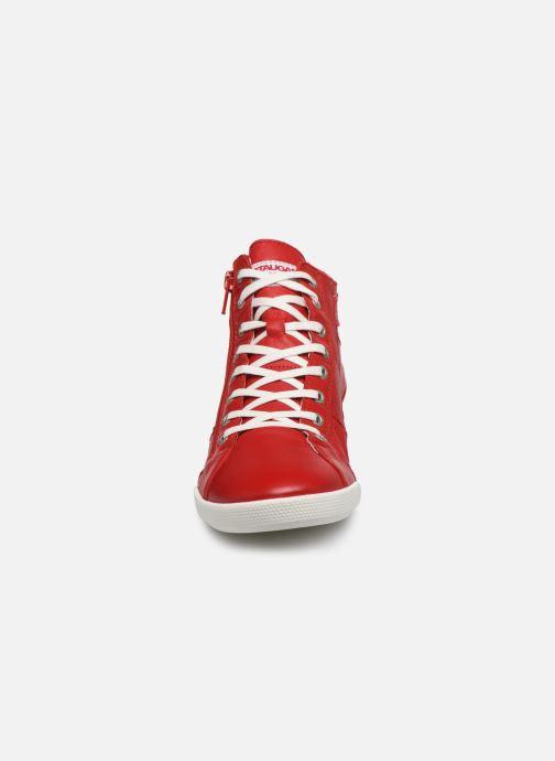 Baskets Pataugas PALME/N F2E Rouge vue portées chaussures
