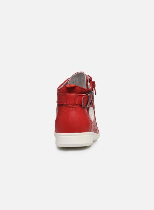 Baskets Pataugas PALME/N F2E Rouge vue droite
