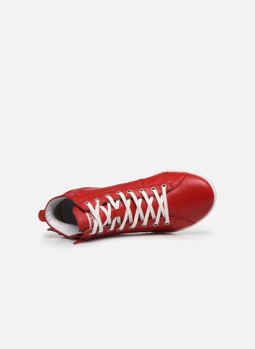 Sneakers Pataugas PALME/N F2E Rosso immagine sinistra