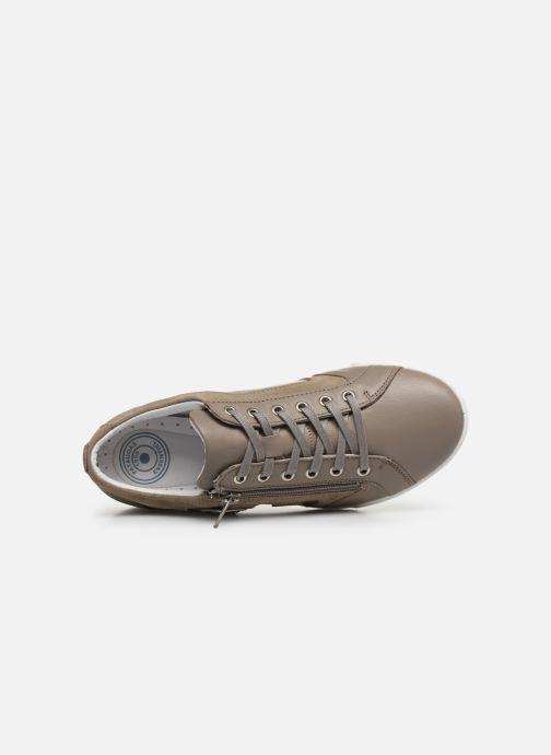 Sneakers Pataugas PAULINE/S F2F Marrone immagine sinistra