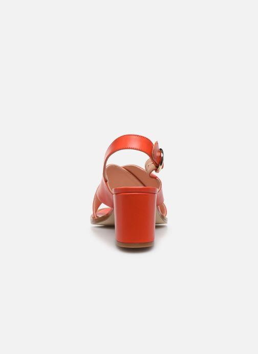 Sandali e scarpe aperte Craie Infini Talon Rosso immagine destra