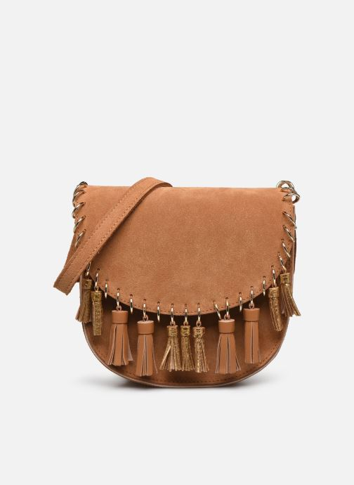 Sac à main S - Mini Luna Ring Daim