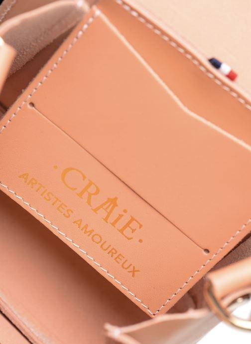 Handtaschen Craie Geometrie rosa ansicht von hinten