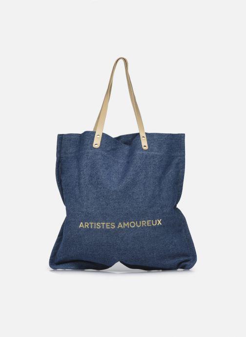 Handtaschen Craie Amoureux blau ansicht von vorne