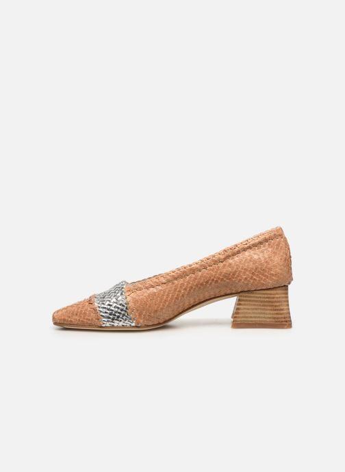 Zapatos de tacón Miista Eivissa Beige vista de frente