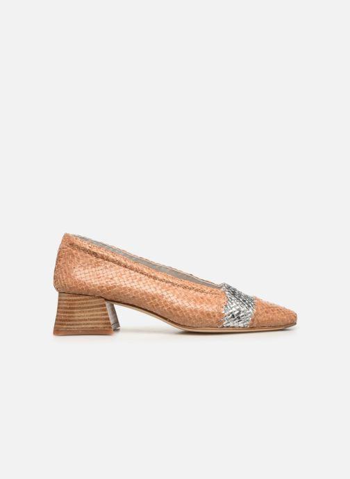 Zapatos de tacón Miista Eivissa Beige vistra trasera