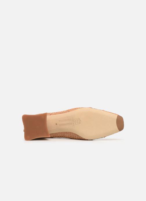 Zapatos de tacón Miista Eivissa Beige vista de arriba