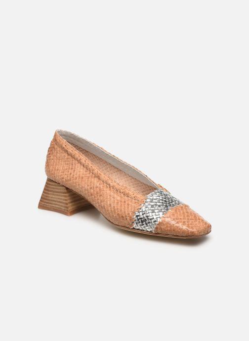 Zapatos de tacón Miista Eivissa Beige vista de detalle / par