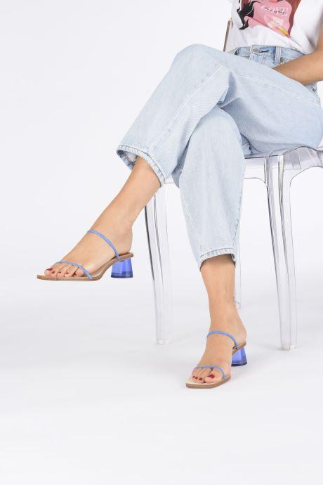 Sandali e scarpe aperte Miista Ellie Azzurro immagine dal basso
