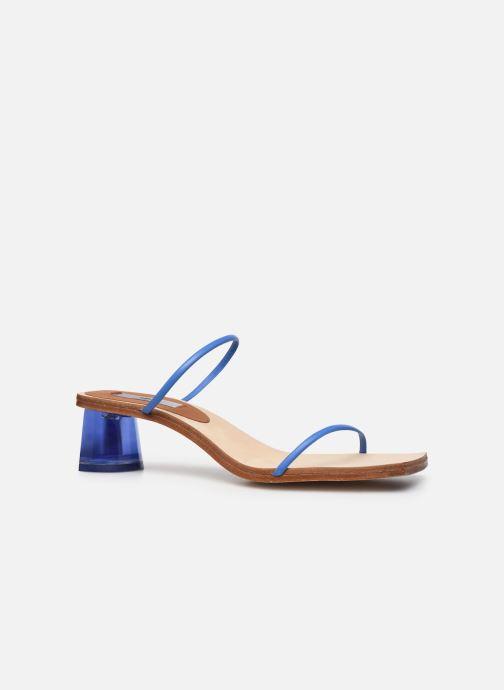 Sandali e scarpe aperte Miista Ellie Azzurro immagine posteriore