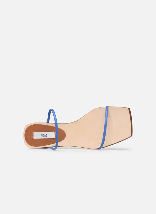 Sandali e scarpe aperte Miista Ellie Azzurro immagine sinistra
