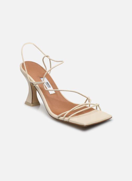 Sandales et nu-pieds Miista Sally Blanc vue détail/paire
