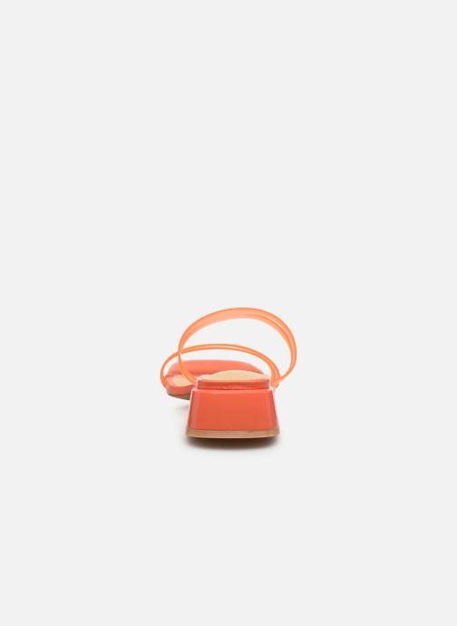 Mules et sabots E8 by Miista Hamuera Orange vue droite