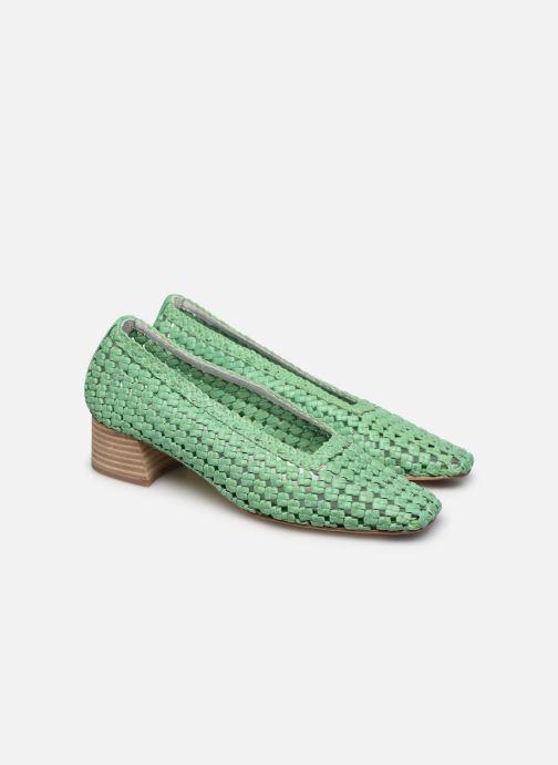 Zapatos de tacón Miista Loirane Verde vista 3/4