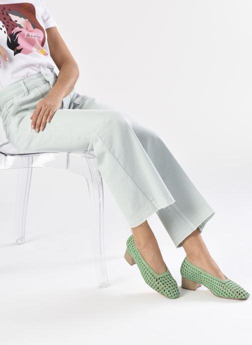 Zapatos de tacón Miista Loirane Verde vista de abajo