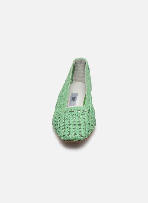 Décolleté Miista Loirane Verde modello indossato