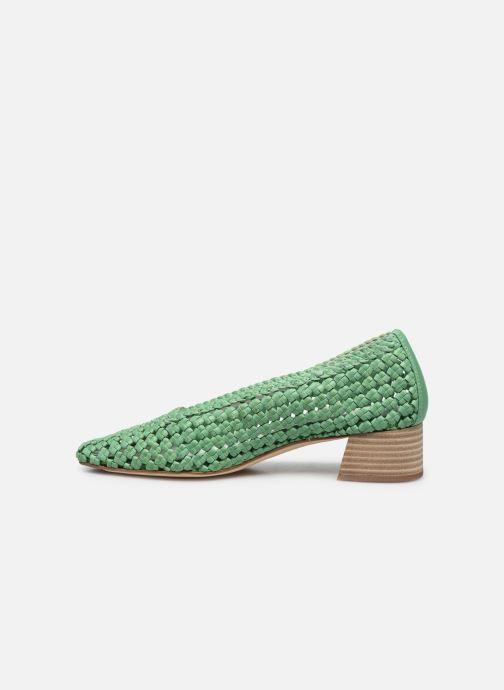 Zapatos de tacón Miista Loirane Verde vista de frente