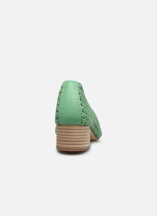Zapatos de tacón Miista Loirane Verde vista lateral derecha