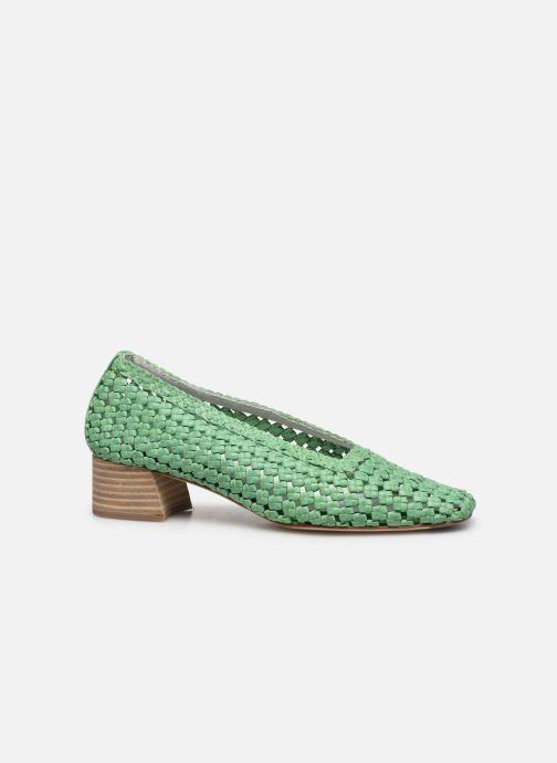 Zapatos de tacón Miista Loirane Verde vistra trasera