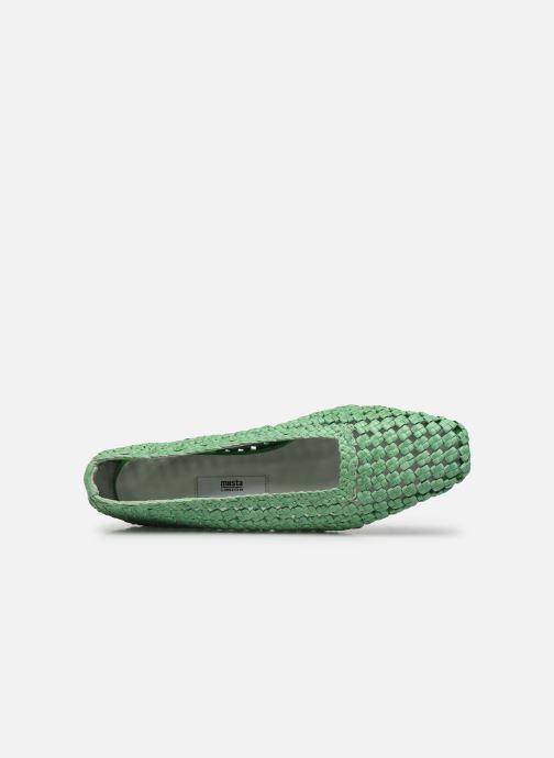 Zapatos de tacón Miista Loirane Verde vista lateral izquierda
