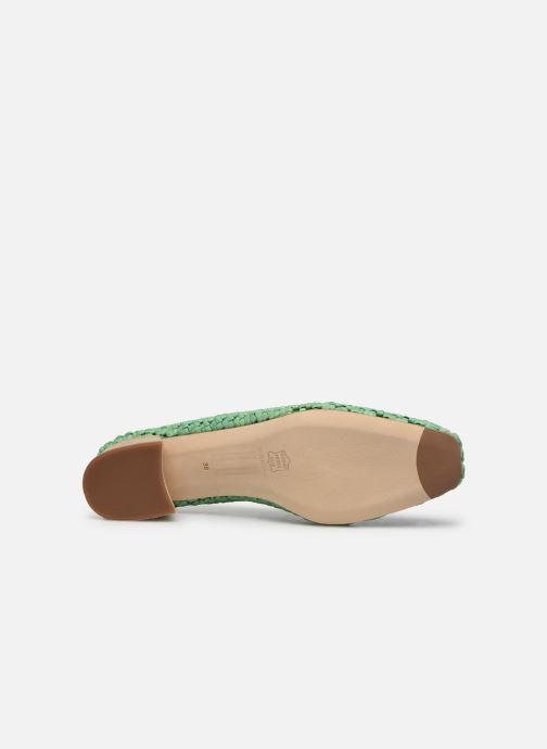 Zapatos de tacón Miista Loirane Verde vista de arriba