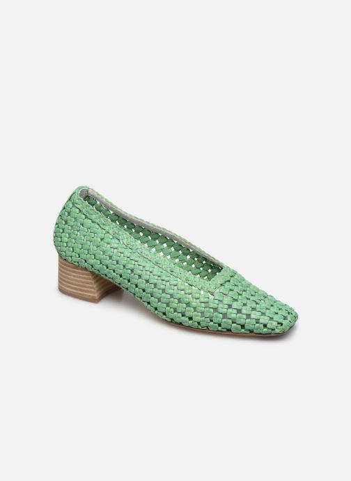 Zapatos de tacón Miista Loirane Verde vista de detalle / par