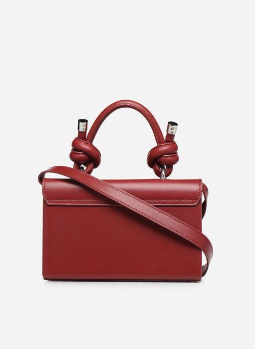 Handtaschen Behno Mary Bag Mini Nappa weinrot ansicht von vorne