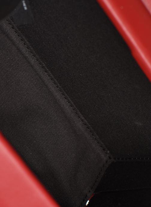 Handtassen Behno Mary Bag Mini Nappa Bordeaux achterkant