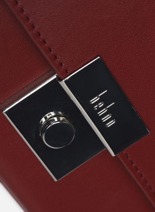 Handtassen Behno Mary Bag Mini Nappa Bordeaux links
