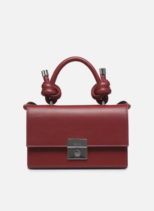 Handtassen Behno Mary Bag Mini Nappa Bordeaux detail
