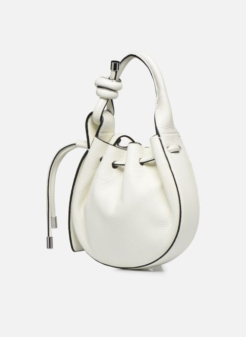 Handtaschen Behno Ina Mini Crossbody weiß schuhe getragen