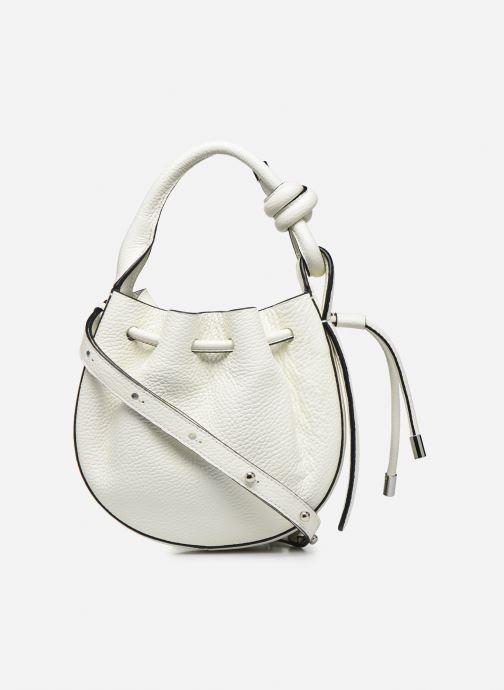 Handtaschen Behno Ina Mini Crossbody weiß ansicht von vorne