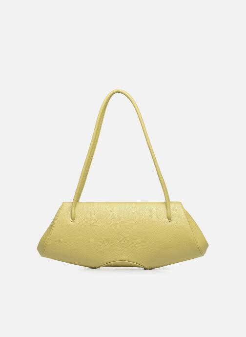 Handtaschen Behno Elisabeth Baguette gelb ansicht von vorne